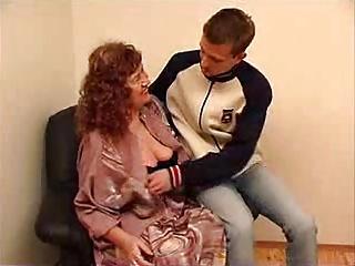 Granny with Boy