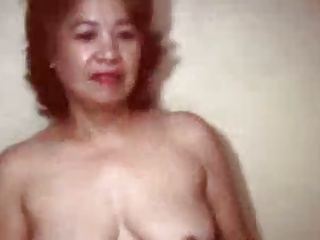 Pretty bold chinese granny in shower actress
