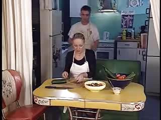 Free HD Granny Tube Kitchen
